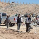 Recorre Síndico de Juárez el relleno sanitario