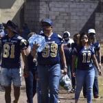Entrega Fundación Caudillos despensas y comida en Colonia La Noria