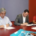 Firman convenio para la realización de la Copa Telmex de Fútbol 2017