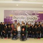 Abanderan a Delegación Chihuahua rumbo a Paralimpiada Nacional 2017
