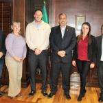 Sostienen reunión de trabajo el Alcalde de Juárez y el Director del ICHD
