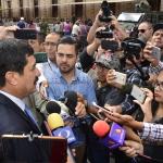 Corral confia en que Peña Nieto honre su palabra y detengan a Duarte
