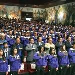 Abanderan a delegación deportiva de la Universidad Autónoma de Chihuahua