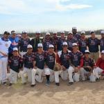 Presidencia uniforma a 25 equipos de béisbol