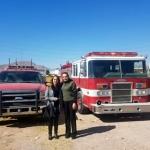 Logra gestionar 2 bomberas para su distrito la diputada Citlalic Portillo