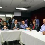 Se reúne comisión especial de Atención al Servicio Público de Transporte con Guillermo Hernández