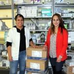 Entrega Citlalic Portillo insumos al Hospital Regional