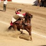 Brillan Escaramuzas y Charros en la disciplina de Charrería en la Olimpiada Estatal
