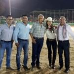 Festeja Maribel Hernández las fiestas Patrias en Ejido del Sauzal