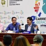 """Presenta Javier Corral segunda edición de la carrera de la Liberación """"Kórima Comparte"""""""