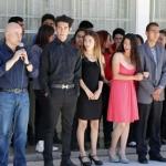 Recibe Miguel La Torre reconocimiento por apoyar tele bachillerato Lázaro Cárdenas