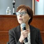 Convive diputada Blanca Gámez con medios de comunicación
