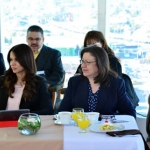 Recibe Junta de Coordinación Política a las aspirantes a ocupar la Sexta Sala Civil